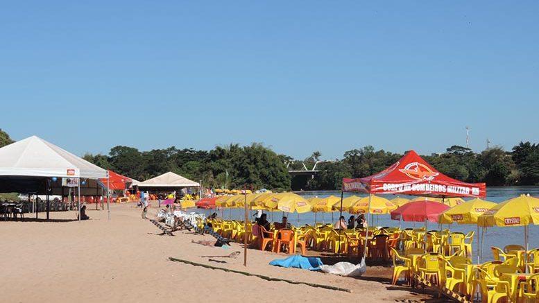 952ce2c56a2f ARAGARÇAS - Temporada de praia tem seu início oficial - A Gazeta do ...
