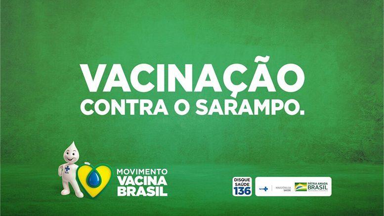 Sarampo: mobilização nacional de vacinação para pessoas de 20 a 49 anos vai até 30 de outubro
