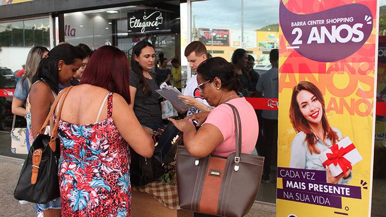 Barra Center Shopping comemora mais um aniversário