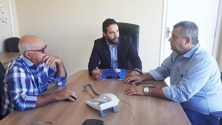 EMENDA PARLAMENTAR – Baiano e prefeito tratam sobre pagamento de ambulância em Cuiabá