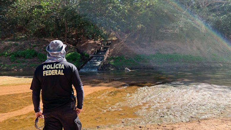 PF investiga contaminação criminosa do Rio Araguaia