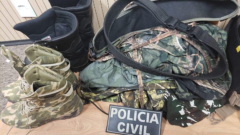 Operação cumpre 16 mandados contra alvos suspeitos de roubos a propriedades agrícolas