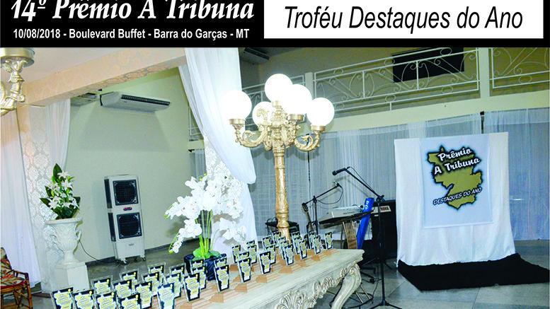 14º Prêmio A Tribuna foi sucesso em Barra do Garças